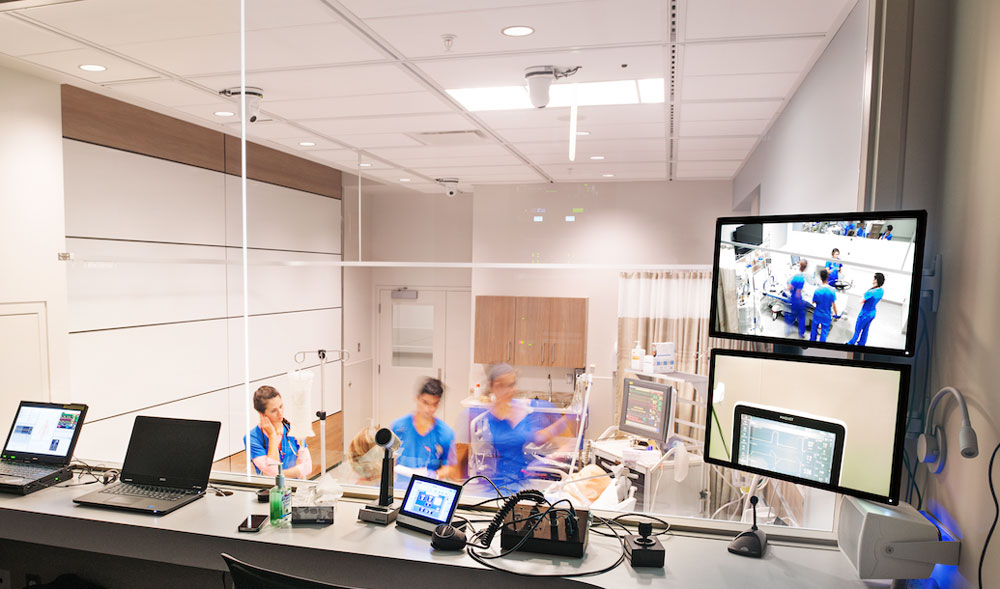 Simulation Centre at NAIT